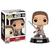 Funko POP! Star Wars Rey with Lightsaber