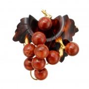 べっ甲&パッションコーラル 葡萄ブローチ/ペンダントヘッド【QVC】40代・50代レディースファッション