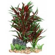 Decor Trixie Plante Din Plastic In Pietris 28 cm 89304