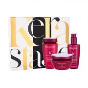 Kérastase Réflection Chromatique 250 ml sada šampon 250 ml + maska na vlasy 200 ml + ochranný fluid 125 ml pro ženy