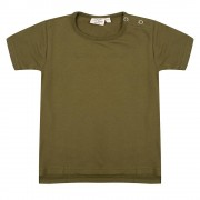 Little Indians Shirt Olive - Size: 6 years