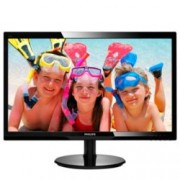 "Монитор 24"" (60.96 cm) Philips 246V5LHAB, TFT-LCD панел, Full HD, 5 ms, 10 000 000:1, 250cd/m2, HDMI"