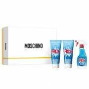 Moschino Fresh Couture Coffret Eau De Toilette 50ml+ Shower Gel 100ml+ Body Lotion 100ml (8011003842391)