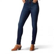 Lee Jeans Ajustados para Mujer, Waterloo Corded Side Seam, 40 Corto