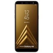 "Telefon Mobil Samsung Galaxy A6 (2018), Procesor Octa-Core 1.6GHz, Super AMOLED capacitive touchscreen 5.6"", 3GB RAM, 32GB Flash, 16MP, 4G, Wi-Fi, Android (Auriu) + Cartela SIM Orange PrePay, 6 euro credit, 6 GB internet 4G, 2,000 minute nationale si inte"