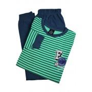 Best Feel chlapecké pyžamo BB8830 9-10 let světle zelená
