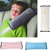 ELECTROPRIME 2X Car Safety Seat Belt Pillow Shoulder Strap Pad Cushions Head Fit for Kids