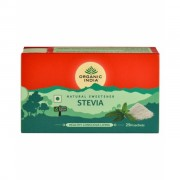 Indulcitor natural Stevie, hipocaloric, Organic India, 25 plicuri