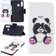 Huawei P30 Lite wallet agenda hoesje panda beer