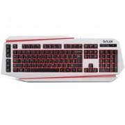 Delux DLK-9500 USB, бял/червен