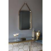 My-Furniture Miroir mural en laiton BERON