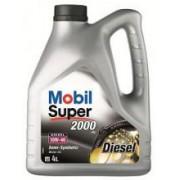 Ulei Semi-Sintetic MOBIL SUPER 2000 X1 DIESEL 10W40, 4 litrii