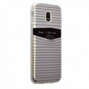 Husa Silicon Transparent Slim I Dont Care Motorola MOTO G5 PLUS