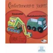 Confectioneaza-ti jucarii - Excavator autobasculanta