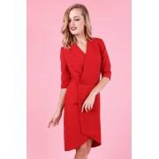 Madnezz Zjawiskowa Sukienka Cloe Marchiano - Czerwona