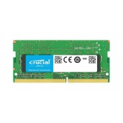 Memory RAM 1x 4GB Crucial SO-DIMM DDR4 2400MHz PC4-19200 | CT4G4SFS824A
