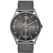 Skagen Analog Grey Round Mens Watch-SKW6180