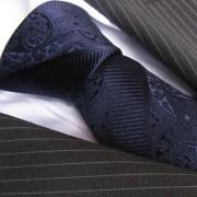 Distino Of Melbourne Sicilian Blue Silk Necktie 82