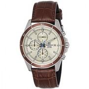 Casio Chronograph Beige Dial Mens Watch-EFR-526L-7BVUDF (EX303)