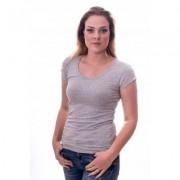 Claesens Women T-Shirt Round neck s/s Grey ( cl 8015 ) - Licht Grijs - Size: Medium