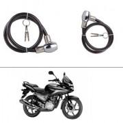 AutoStark Heavy Duty Multi Purpose Goti/Key Helmet Lock (Black) (Pack of 1) for Honda CBF Stunner