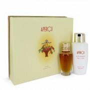 Apercu For Women By Houbigant Gift Set - 1.7 Oz Eau De Toilette Spray + 6.7 Oz Body Lotion --