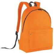 Kimood Stevige oranje rugzak voor kinderen 10 l