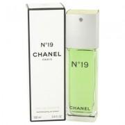 Chanel 19 For Women By Chanel Eau De Toilette Spray 3.4 Oz