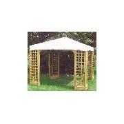 Gazebo Roxi 3x3 legno
