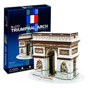 Cubicfun 3D Puzzle Arc De Triomphe Paris, Multi Color