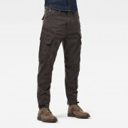 G-star RAW Hommes Pantalon Cargo Droner Relaxed Tapered Gris