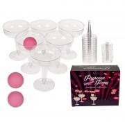 Geen Drankspel/drinkspel wijn prosecco pong spel