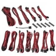 Kit cabluri modulare BitFenix Alchemy 2.0 SSC-Series Black/Red