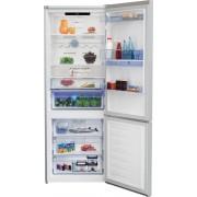 Combina frigorifica Beko RCNE560E30DZM, NoFrost, 497 L, Compartiment 0°C, Dozator apa, Display touch control, Raft sticle, Racire/Congelare rapida, Clasa A++, H 192 cm, Culoare Marble