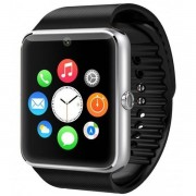 "Ceas Smartwatch cu Telefon IMK GT08, Camera 1,3 Mpx, Apelare BT, LCD Capacitiv 1.54"" Antizgarieturi, Slot Card, Argintiu"