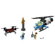 LEGO Urmărirea cu drona a poliției aeriene