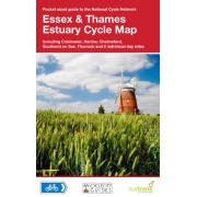 Fietskaart 9 Cycle Map Essex & the Thames Estuary | Sustrans