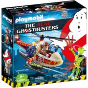 GHOSTBUSTER - VENKMAN SI ELICOPTER - PLAYMOBIL (PM9385)