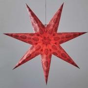 Isadora decorative star, red