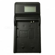 Cargador de bateria ismartdigi BP88B LCD USB camara para Samsung BP88B SLB-BP88B bateria - negro