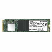 SSD M.2, 128GB, Transcend, M.2 2280, PCIe NVMe Gen3 x4 (TS128GMTE110S)