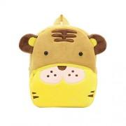 STOBOK Cute Animal Backpack Tiger School Bags Cartoon Mochila de Felpa para niños, niños pequeños