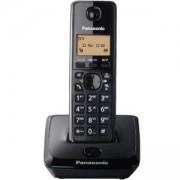 Безжичен DECT телефон Panasonic KX-TG 2711, Черен, 1015091