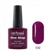 Oja semipermanenta OneStep Lila Rossa Professional 7.3ml OLROS032