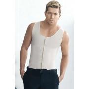 Ann Chery Latex Men's Girdle Vest Body Shaper Nude 2034