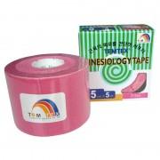 Temtex Kinesiology tape BKT-06 5cm X 5m Rosa