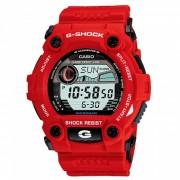 reloj digital Casio serie G-7900A-4 g-shock-rojo + negro