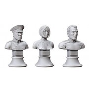 Halo: Fleet Battles UNSC Commanders & Heroes Bust Collection 1