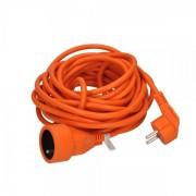 Solight Prodlužovací kabel spojka 1Z - 15m oranžová