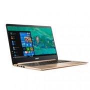 "Лаптоп Acer Aspire Swift 1 SF114-32-P64W (NX.GXREX.001)(златист), четириядрен Gemini Lake Intel Pentium N5000 1.1/2.7 GHz, 14.0"" (35.56 cm) Full HD IPS Anti-Glare Display, (HDMI), 4GB DDR4, 128GB SSD, 1x USB Type-C, Windows 10, 1.30 kg"